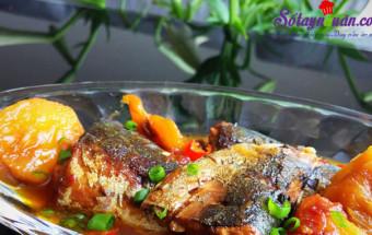 cách làm món kho, Cá nục kho dứa thơm ngon cho mâm cơm tròn vị