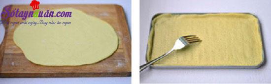 cách làm piza cá ngừ 3