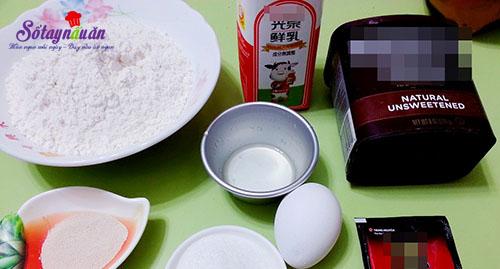 Cách làm bánh mì papparoti mềm thơm siêu hấp dẫn nguyên liệu