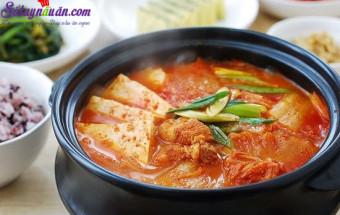 Nấu ăn món ngon mỗi ngày với Muối, cách làm canh kim chi thịt heo 8