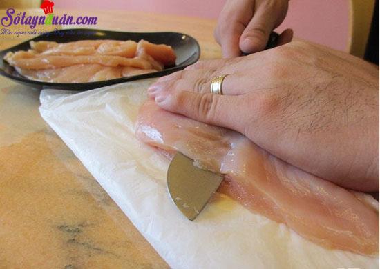 cách làm gà nướng phủ phô mai 10