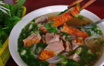 Nấu ăn món ngon mỗi ngày với Hành khô, cách làm phở vịt quay 2