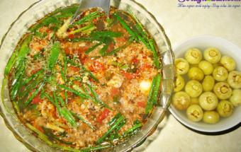 Nấu ăn món ngon mỗi ngày với Cà chua, cách nấu canh riêu cua 4