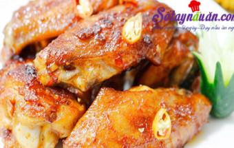 cách chiên, Học cách làm cánh gà nướng muối ớt siêu dễ