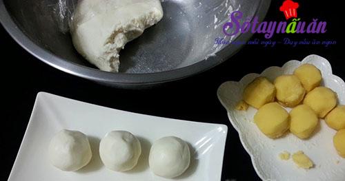 Học làm bánh giầy đậu xanh dẻo thơm hết nấc 4