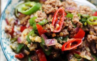 , Hướng dẫn nấu thịt bò băm dễ làm lại đưa cơm