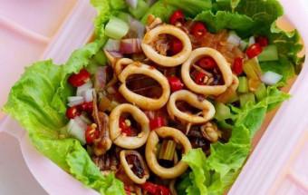 Nấu ăn món ngon mỗi ngày với Tỏi, cách làm mực hấp kiểu thái 4