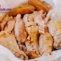 món ngon từ gà, Thịt gà nướng muối cho cuối tuần đoàn viên kết quả