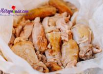 Thịt gà nướng muối cho cuối tuần đoàn viên