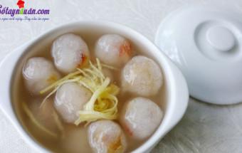 Nấu ăn món ngon mỗi ngày với Đường, cách làm chè bột lọc heo quay 1