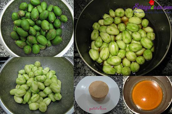 cách làm cóc ngâm, cóc dầm chua ngọt 3