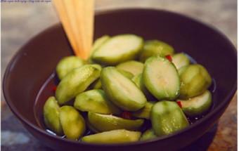 Nấu ăn món ngon mỗi ngày với Đường, cách làm cóc ngâm, cóc dầm chua ngọt 4