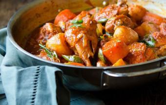 Nấu ăn món ngon mỗi ngày với Rượu gạo, cách làm gà hầm cay kiểu hàn 1