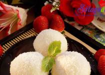 Cách làm mochi hoa quả dẻo thơm mát lành
