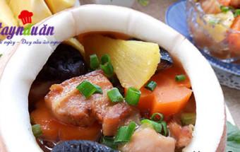 các món hầm, Cách làm thịt ba chỉ om sọ dừa ngon hết cơm kết quả