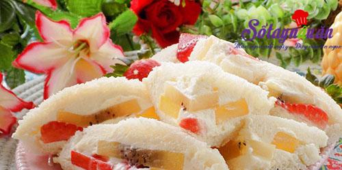 Học làm bánh mì sandwich kẹp trái cây lạ mà ngon tuyệt kết quả