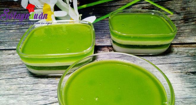 Học làm thạch lá dứa sữa tươi thơm mát cực đã 5