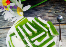 Học làm thạch lá dứa sữa tươi thơm mát cực đã