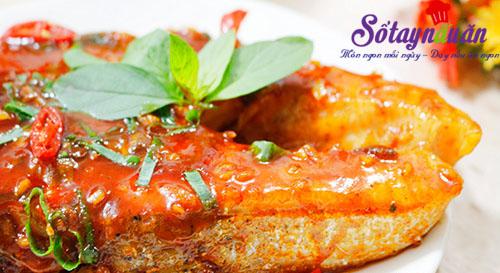Ngon cơm với cá hồi áp chảo sốt chua ngọt kết quả