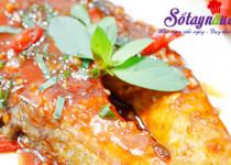 Ngon cơm với cá hồi áp chảo sốt chua ngọt