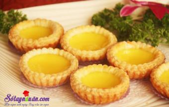 Các món ăn vặt, cách làm bánh trứng tart bồ đào nha 3