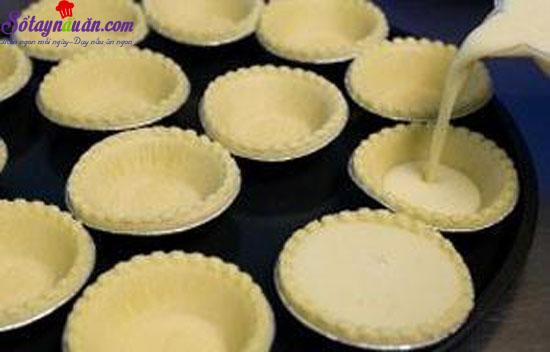 cách làm bánh trứng tart bồ đào nha 2