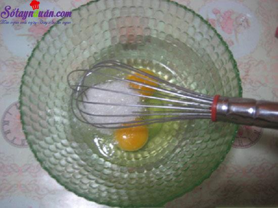 cách làm bánh flan trà xanh caramel 4