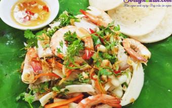 Nấu ăn món ngon mỗi ngày với Đậu phộng, cách làm gỏi cổ hũ dừa tôm thịt 8