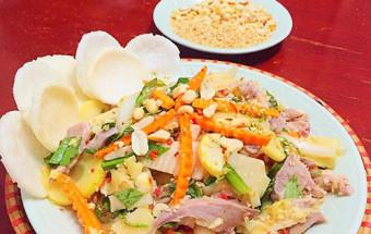 Nấu ăn món ngon mỗi ngày với Lạc, cách làm gỏi lưỡi heo măng chua 6