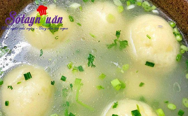 Cách làm súp khoai tây bọc thịt ngon mê mẩn 6