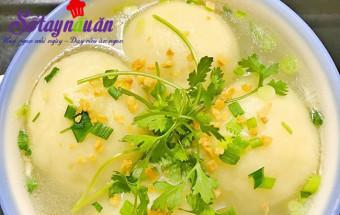 Nấu ăn món ngon mỗi ngày với 200gr bột nếp, Cách làm súp khoai tây bọc thịt ngon mê mẩn kết quả