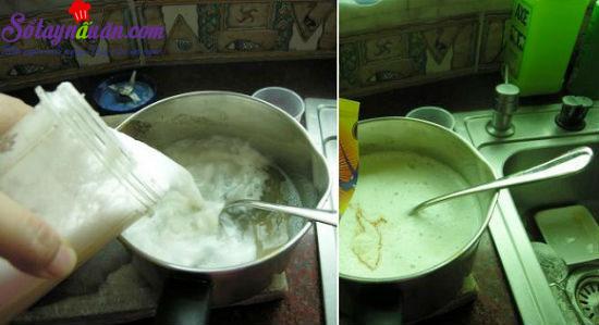 cách làm thạch trái cây hương vải 3