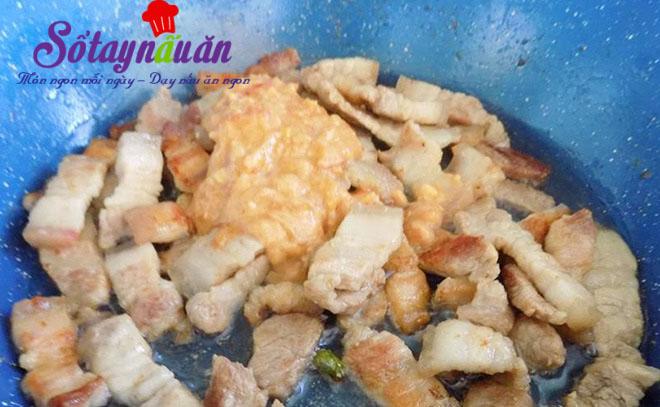 Cách làm thịt rang đậm đà ngon cơm 4