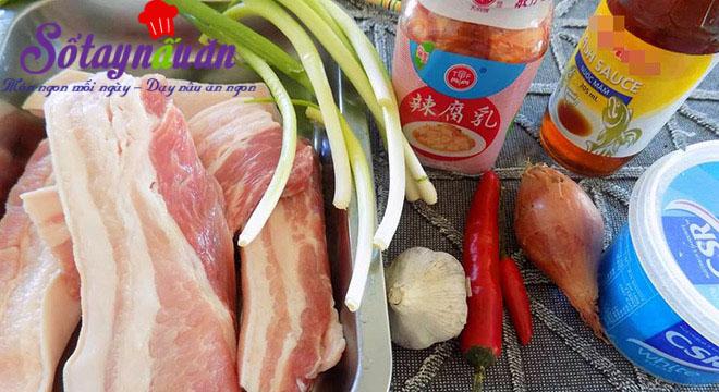 Cách làm thịt rang đậm đà ngon cơm