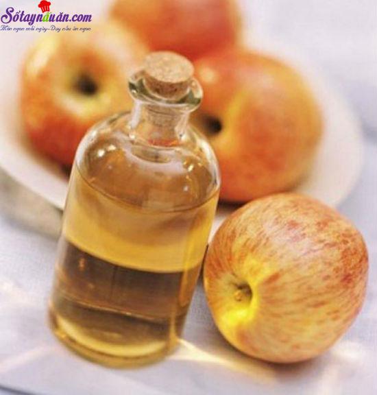 công dụng của giấm táo 2