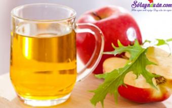 mẹo vặt, công dụng của giấm táo 3