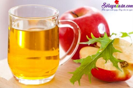 công dụng của giấm táo 3