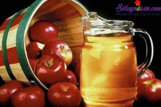 công dụng của giấm táo 4