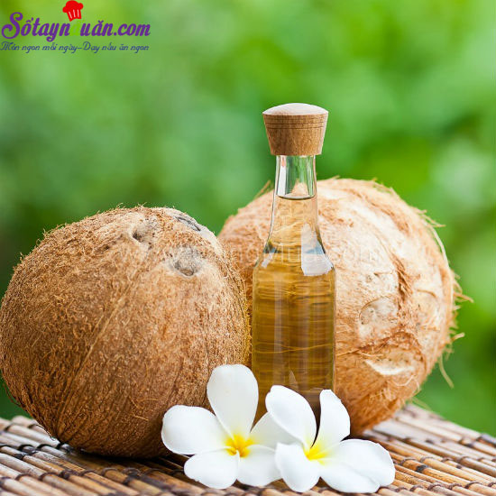 cách làm tinh dầu dừa 1