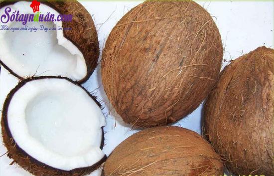 cách làm tinh dầu dừa 2