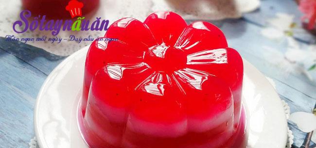 Cách làm thạch sữa chua thanh long đỏ mát bổ ngày hè