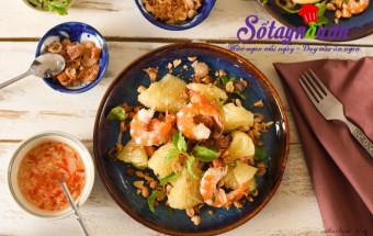 Món tráng miệng, Học làm salad tôm bưởi giảm cân siêu hiệu quả 2