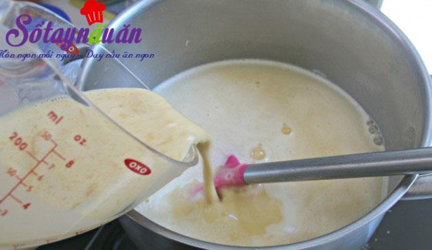 Học làm sữa chua xoài 2 tầng độc lạ cực ngon mát