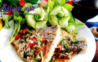Nấu ăn món ngon mỗi ngày với Gia vị, Hướng dẫn làm cá rim mắm tỏi ướt đậm đà đưa cơm