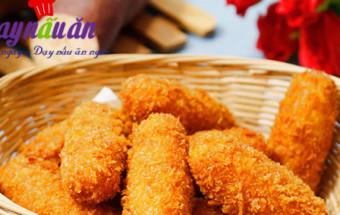 Nấu ăn món ngon mỗi ngày với Dầu ăn, Khoai lang tẩm bột chiên xù giòn tan khó cưỡng
