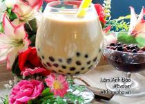Học làm trà sữa trân châu từ bột sắn dây siêu dễ