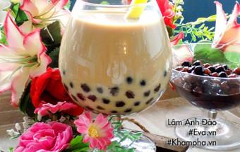 Các món ăn vặt, Học làm trà sữa trân châu từ bột sắn dây siêu dễ
