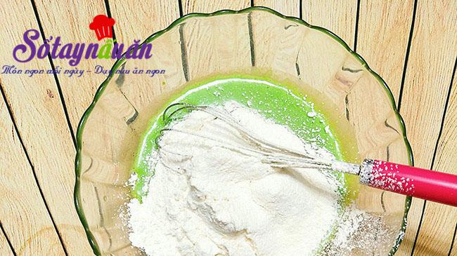 Cách làm bánh chiffon lá dứa thơm mềm xốp cực ngon 3