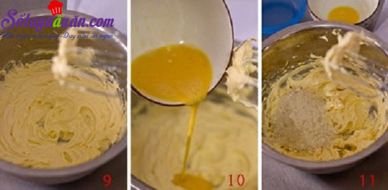 cách làm bánh dứa 6