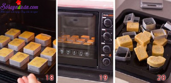cách làm bánh dứa 9